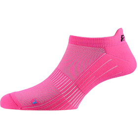 P.A.C. SP 1.0 Footie Active Short Socks Dam neon pink